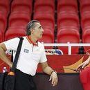 Проблеми за Шпанците пред Словенија: Тројца кошаркари во изолација поради контакт со позитивно лице