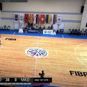 Срамота: Македонските кошаркарки цела четвртина без ниту еден постигнат поен (ВИДЕО)