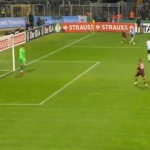 Кикс на Чурлинов, им подари гол на Минхен 1860 па заменет по само 20 минути игра