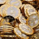 По рекордната вредност која биткоинот достигна, , следи сериозен пад