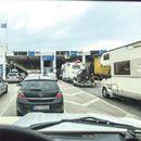 Зголемена фреквенција на возила на граничните премини