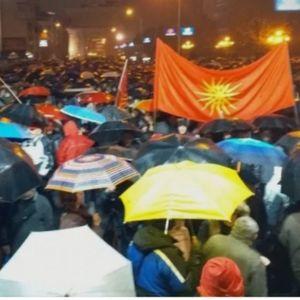 """Експрес"""": Протестот не може да го спречи ни зимата ни Власта (ФОТО)"""