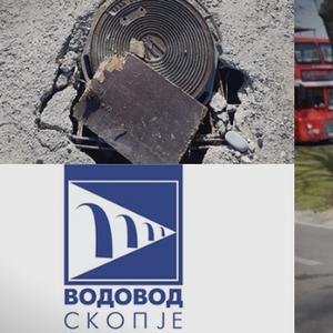"""Во Скопје импровизирани шахти опасни по живот, """"Водовод и канализација"""" мува не ги лази, граѓаните го прашаа Шилегов """"Каде да ги возиме тротинетите""""?"""