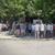 """Аеродромци на протест пред поликлиниката """"Јане Сандански"""", не сакаат тука да се лекуваат зависници"""