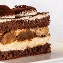 (Рецепт) Непечена торта со бисквити и крем банани