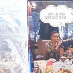 """НЕВНИМАНИЕ ИЛИ НАМЕРЕН ГЕСТ – Боки 13 и Кирацовски на рекламни паноа: """"Свирете ја затвор, затвор тивко полека!"""""""