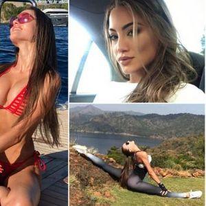 ЖЕШКИ ФОТКИ – СЕ' ПОПОПУЛАРНА: Мис на Украина привлекува внимание со фотки од јога вежби!