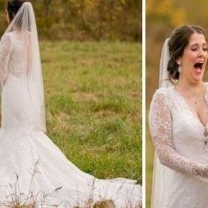 Младоженецот ја изненадил невестата со совршен подарок а нивните фотографии ќе ве разнежнат но и насмеат!