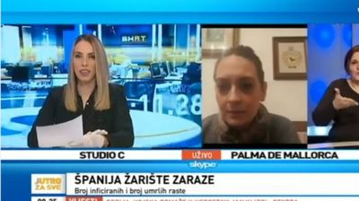 """ТВ БИХ –  Исповед на медицинска сестра за состојбата во Шпанија:""""Не смеете да дозволите ова и ВАМ да ви се случи!"""""""