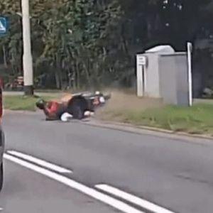 Со BMW-om соборил скутер и продолжил да вози – Го запреле!