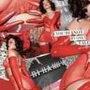 (ВИДЕО+ФОТО) Ријана во жешко црвен латекс и чипка: Како вистинска богинка на љубовта!