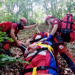 Како изгледаше акцијата за спасување на охриѓанецот кој падна во провалија