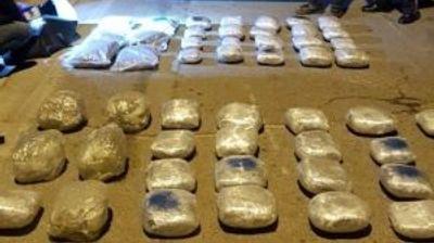 Запленета дрога вредна околу 200.000 евра, прекинат меѓународен канал за транспорт на дрога