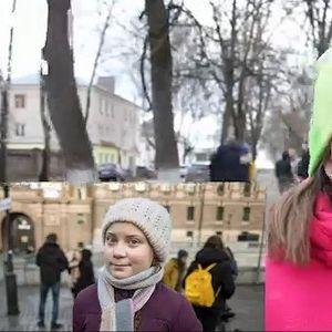 ГРЕТА ДОБИ ДВОЈНИЧКА: Девојчето живее во Русија и се бори за иста цел
