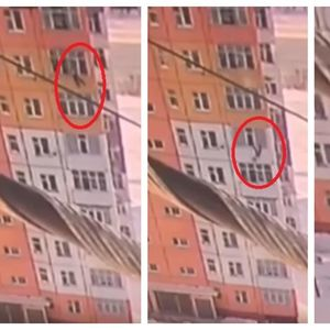 ШОКИРАЧКО ВИДЕО - жена во Сибир паѓа од 9 кат, си станува и си оди