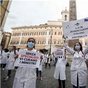 ПРОТЕСТИ ВО 21 ГРАД: Италијанските лекари бараат реформи