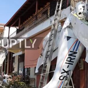 ВОЗАЧОТ ПРЕЖИВЕАЛ - мал авион се сруши во Грција