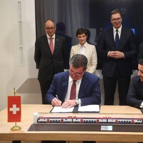 Вучиќ им купи брз воз, сега Штадлер сака да гради фабрика во Србија