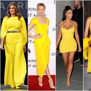 Инспирација: Познатите во жолто