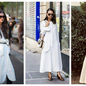 20 бели фустани за романтична есен