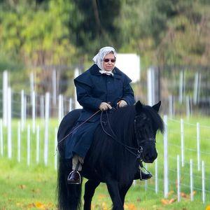 Кралицата на коњ!