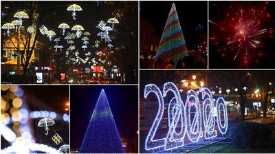 Празничната сезона започна: Скопје во новогодишно руво!