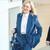 Аутфит по мерка на жените со изграден стил – Кејт Бланшет во сомотно одело