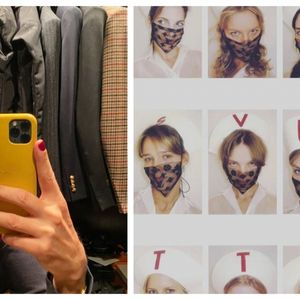 Вирален тренд: Маски за лице по моден терк