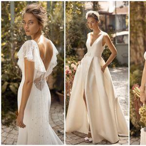 Нежни венчаници од израелската дизајнерка Лихи Ход со акцент на грбот