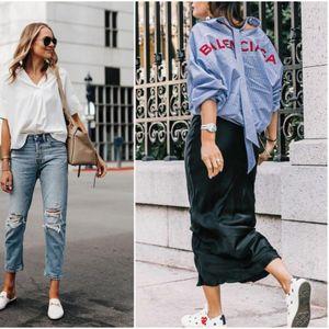 Лежерно и впечатливо: Машка кошула + џинс