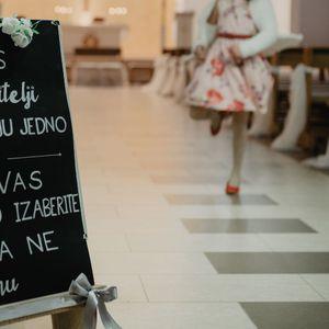Свадбен натпис кој стана апсолутен хит во Хрватска