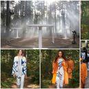 """""""Барбери"""" ѝ се врати на природата и приреди одлично модно шоу в шума"""