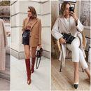 Модна инспирација за есенски стајлинзи од профилот на @itsjustinesjournal
