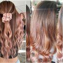 Rose Gold Ombre - најпопуларната нијанса за коса есенва
