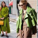 Свежо и атрактивно: Зелена есен на модните улици