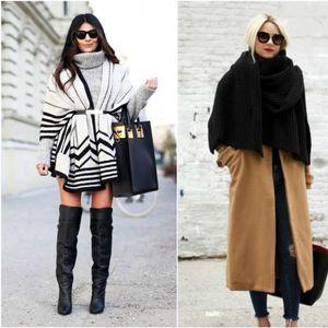Шал-ќебе: Ефективен моден додаток за цела сезона