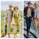 Светот е нивна модна писта: Маж и жена на 65+ се вистински модни икони