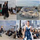 """Фантастично модно шоу на """"Александар Меквин"""" на покрив во Лондон"""