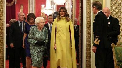 Меланија Трамп ги засени гостите кај кралицата Елизабета
