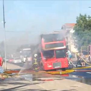 Шилегов: Возачот на опожарениот автобус навремено ги евакуирал патниците