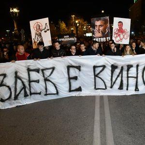 "ВМРО-ДПМНЕ протестираше за правда: ""Бранко е крив"" стана ""Заев е виновен"""
