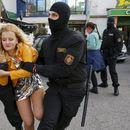 Нови протести во Белорусија, уапсени десетици жени