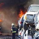 Изгорялата автоморга в Хасково се оказва незаконна