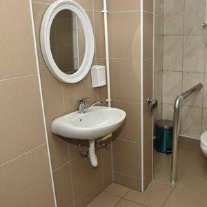 """Прилеп: Адаптиран тоалет за лицата со посебни потреби во ООУ """"Кире Гаврилоски – Јане"""""""