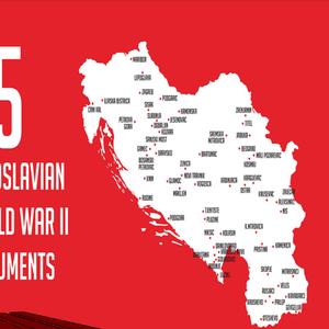 """Кардула со 75 илустрации од """"бруталистичките"""" споменици од НОБ во поранешна Југославија"""