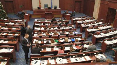 Собранието повторно изгласа десетина закони вратени од претседателот Иванов