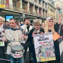Četrdeset peti protest '1 od 5 miliona' u bojama Pinka