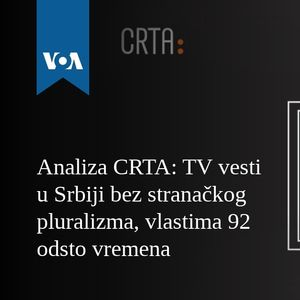 Analiza CRTA: TV vesti u Srbiji bez stranačkog pluralizma, vlastima 92 odsto vremena