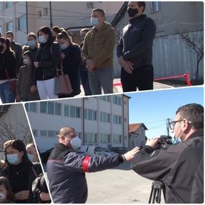 Protest zbog kriterijuma zapošljavanja zdravstvenih radnika u Pasjanu