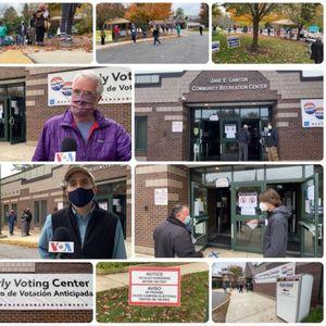 Zapis sa prevremenog glasanja u Merilendu: Nema mesta apatiji